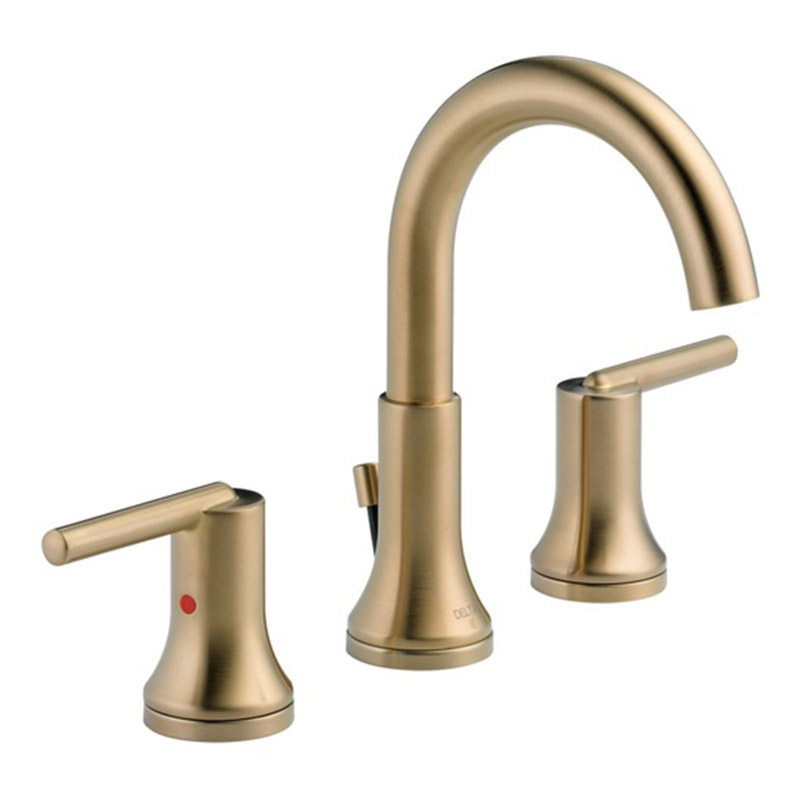 Delta – Trinsic Two Handle Widespread Bathroom Faucet